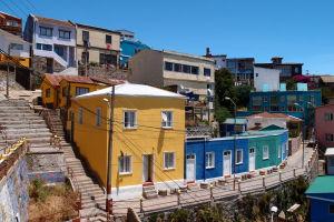 Farebné domy v Bellaviste