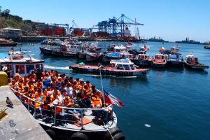 Prístav vo Valparaíse