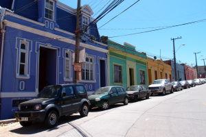 Farebné domčeky v Playa Ancha