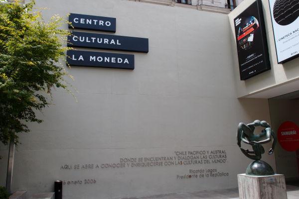 Múzeum a kultúrne centrum La Moneda v Santiagu pod prezidentským palácom
