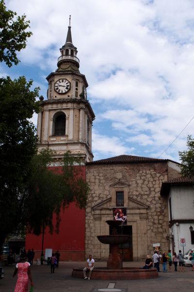 Chrám sv. Františka v Santiagu