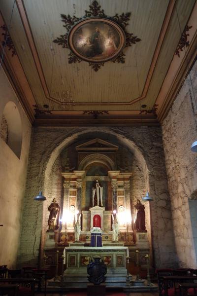 Kaplnka Chrámu sv. Františka v Santiagu