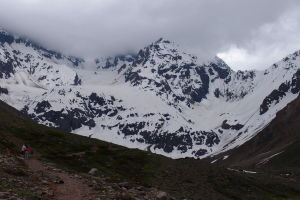 Pohľad na vrchol El Morado