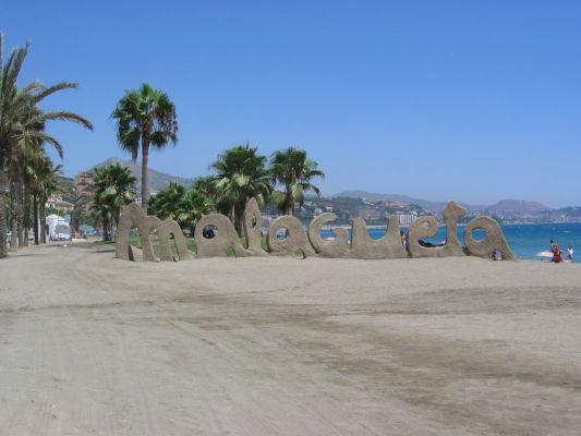 Pláž Malagueta v Málage (zdroj: Wikipedia)