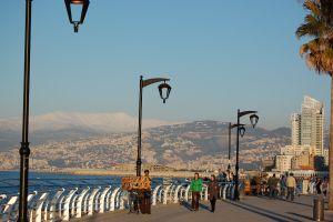 Promenáda Corniche (zdroj: Beirut.com)