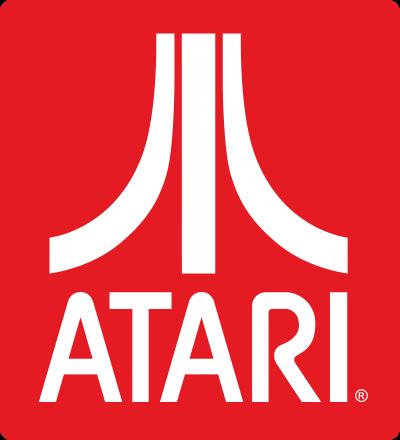 Logo počítačovej firmy Atari, inšpirované sopkou Fudži