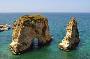 Holubie skaly (Pigeon Rocks) (zdroj: Geographylists.com)