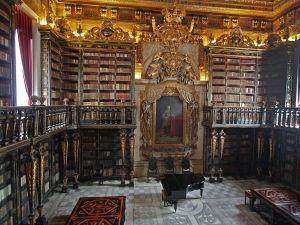 Knižnica Univerzity v Coimbre (zdoj: wmf.org)