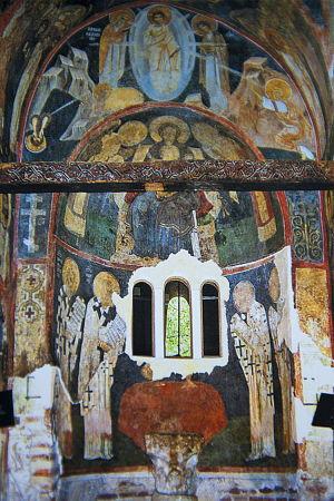 Vnútorné fresky v Boyanskom kostolíku (zdroj: unesco.org)