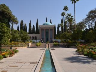 Hrobka básnika Saadiho