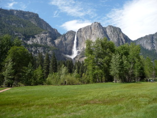Vodopád Yosemite Fall