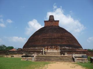 Stupa Jetavanaramaya v Anuradhapure
