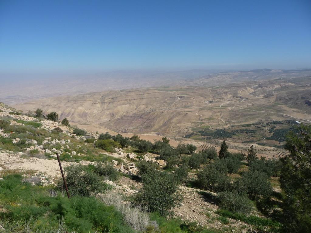 Pohľad z hory Nebo na zasľúbenú zem