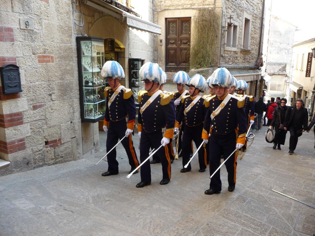 Čestná stráž v San Maríne