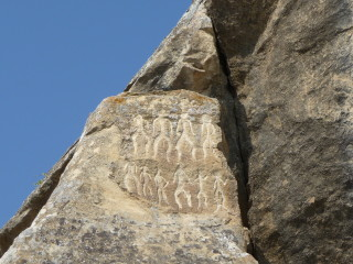 Petroglyfy v Gobustane