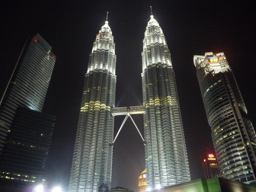 Petronas Towers v Kuala Lumpur
