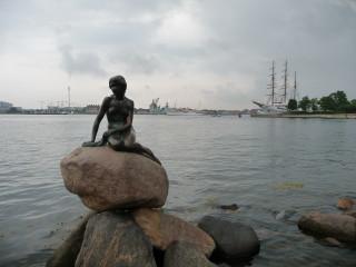 Malá morská víla - Typická ikona Kodane