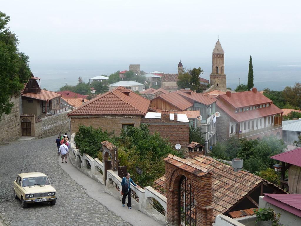 Panoráma mesta Signagi