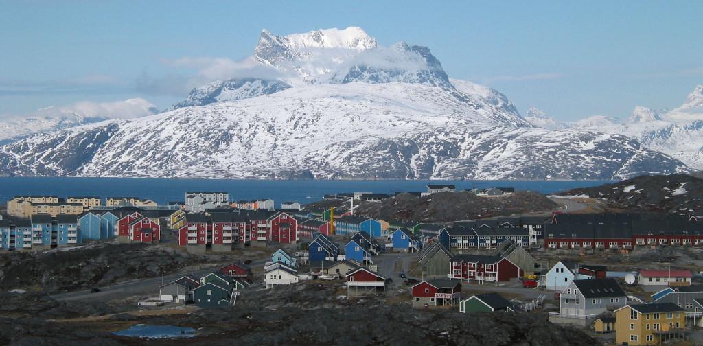 Nuuk - Hlavné mesto Grónska (Zdroj: Wikipedia)