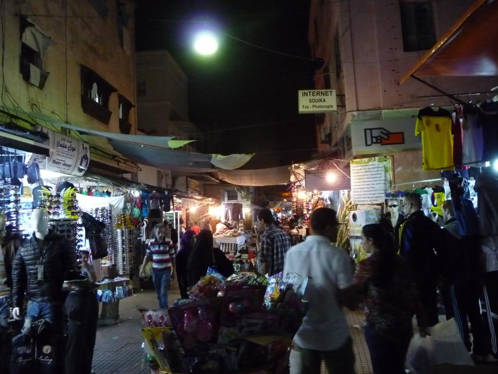 Trh v Medine v Rabate