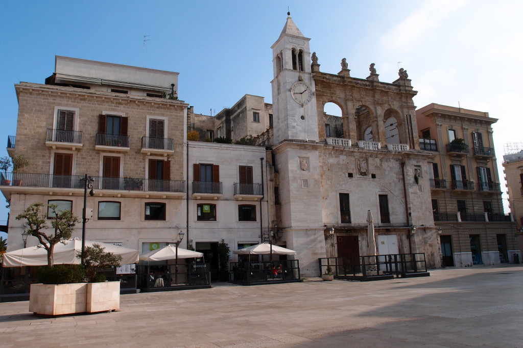 Námestie Piazza Mercantile v Bari