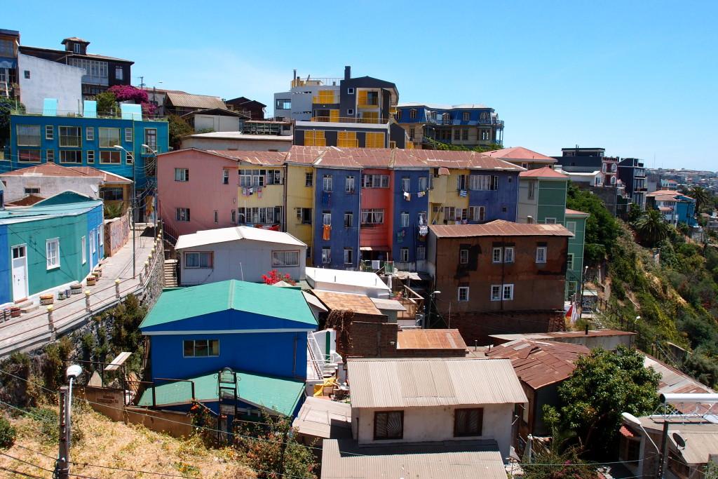Štvrť Bellavista vo Valparaíse