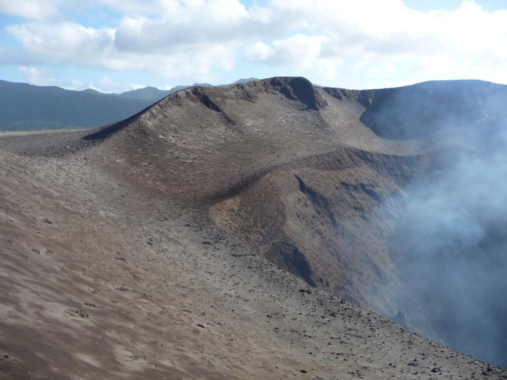 Sopka Mt. Yasur na ostrove Tanna