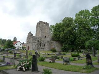 Ruiny chrámu sv. Olafa v Sigtune
