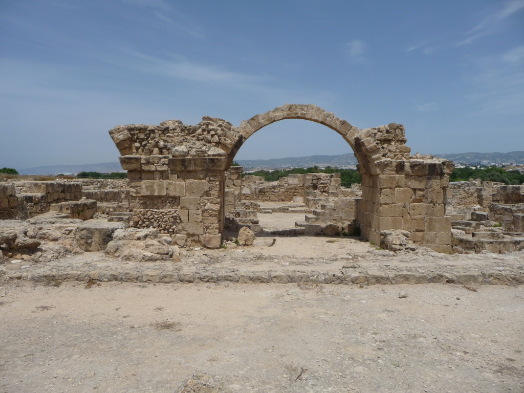 Ruiny starého mesta Pafos
