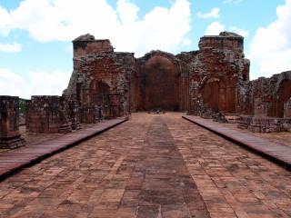 Hlavný kostol jezuitskej misie Santísima Trinidad del Paraná