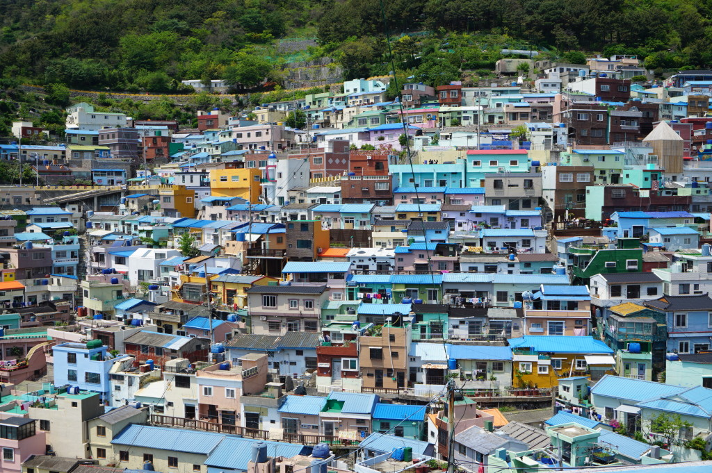 Štvrť Gamcheon-dong v Busane