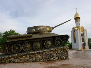 Tankový pamätník v Tiraspole