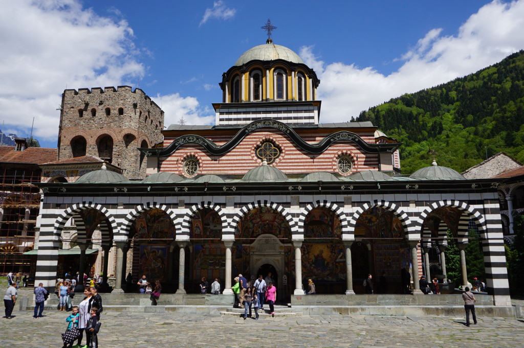 Kostol v kláštore Rila
