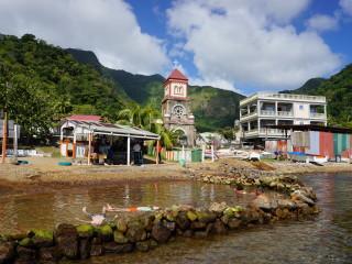 Bublinková pláž na Dominike