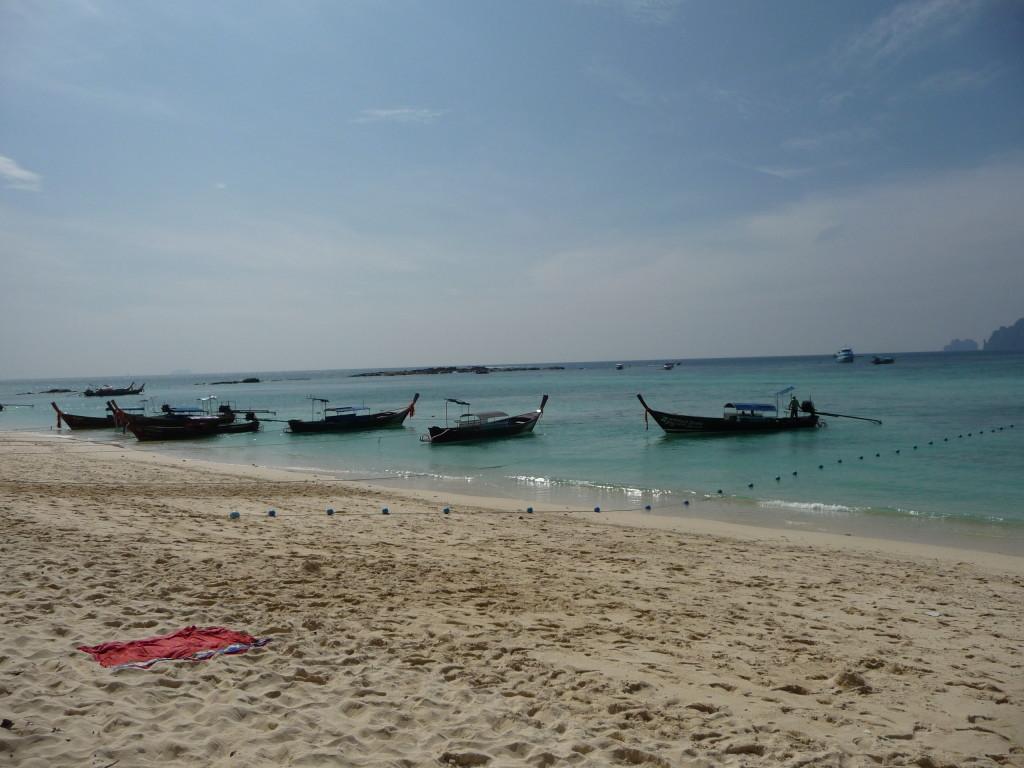 Loďky na ostove Phi Phi