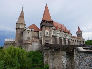 Korvínov hrad v Hunedoare