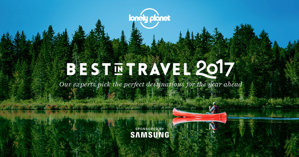 Lonely Planet - Best in Travel 2017