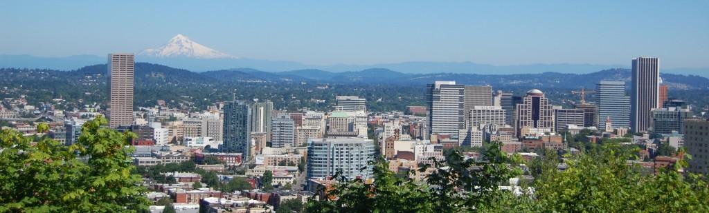 Portland a Mt. Hood (zdroj: Wikipedia)