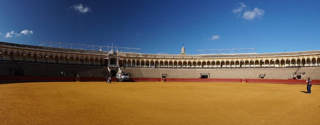 Aréna pre býčie zápasy v Seville