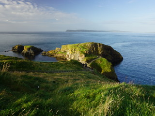 Ostrov Carrick-a-Rede v Severnom Írsku
