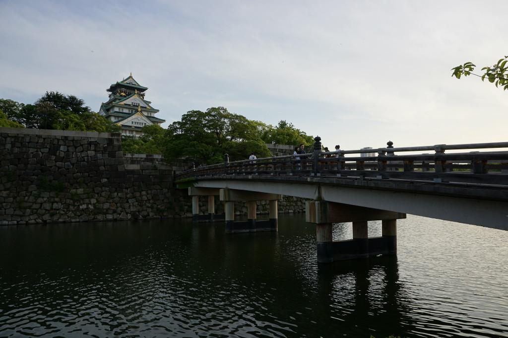 Hrad v Ósake