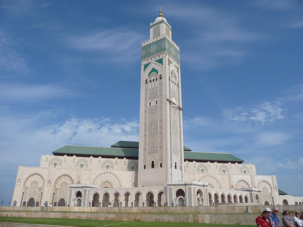 Najvyšší minaret sveta v Casablance