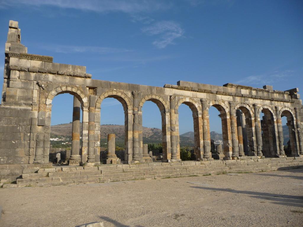 Pozostatky rímskeho mesta Volubilis
