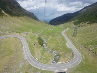Rumunská horská cesta Transfăgărășan