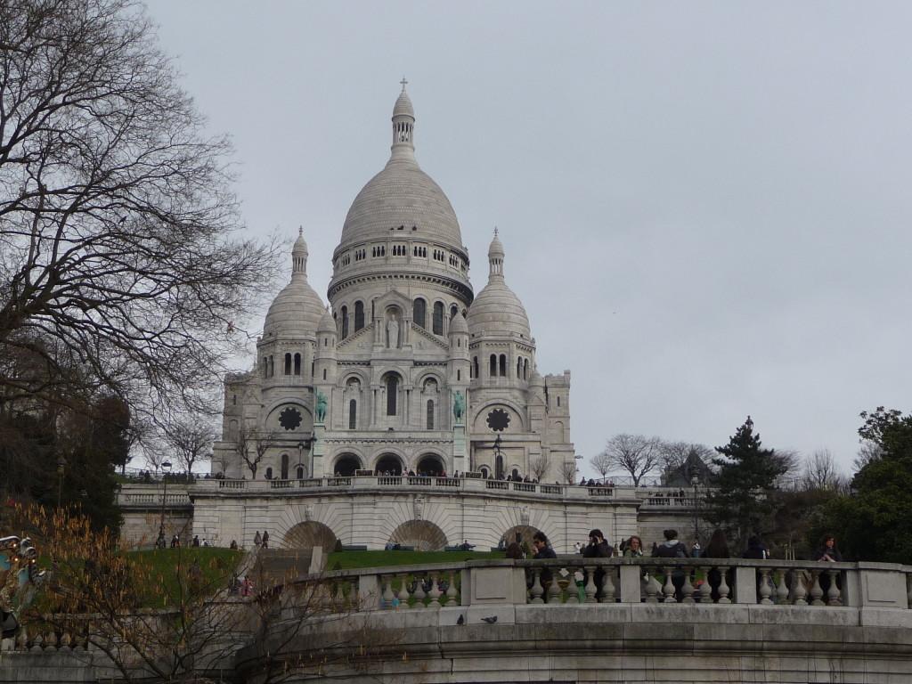 Bazilika Sacré-Cœur v Paríži