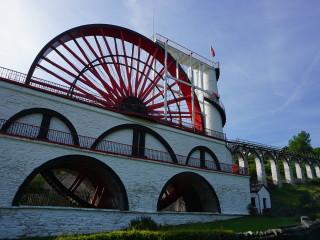 Laxey Wheel - najväčšie vodou poháňané koleso na svete