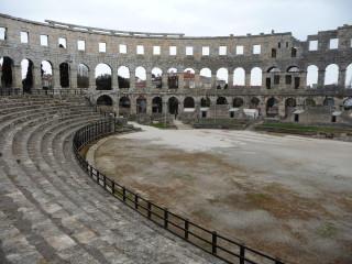 Rímska aréna v Pule