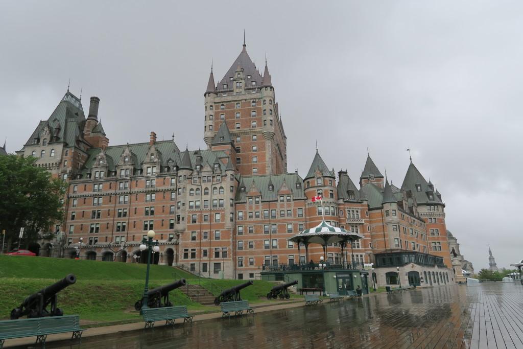 Hlavná dominanta Québecu - hotel Le Château Frontenac