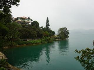 Jazero Sun Moon Lake na Taiwane
