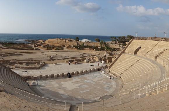 Rímsky amfiteáter v Caesarei